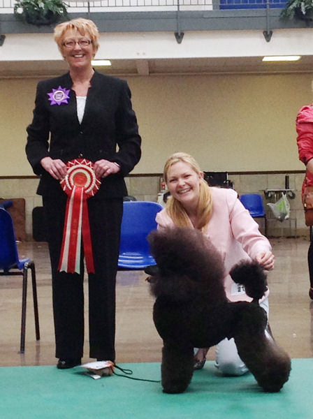 Murphy winning Best in Show